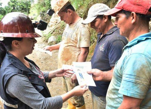Inició la actualización de datos sobre la actividad minera en Ecuador