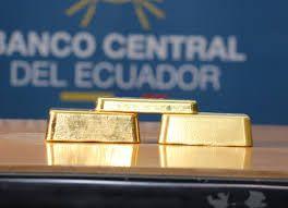 banco central reserva oro ecuador