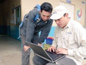 El Ministerio de Minería, Arcom e Inigemm trabajan en la solución del socavón de Zaruma