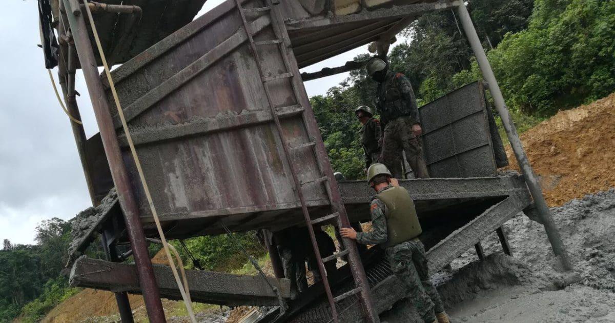 Arcom realizó operativos, cierres y suspensión de labores mineras informales