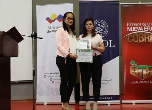 Estudiantes de geología apoyan la minería ecuatoriana