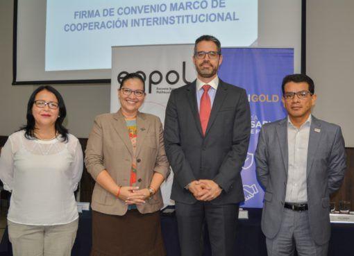 Lundin Gold y ESPOL firman convenio marco de cooperación interinstitucional