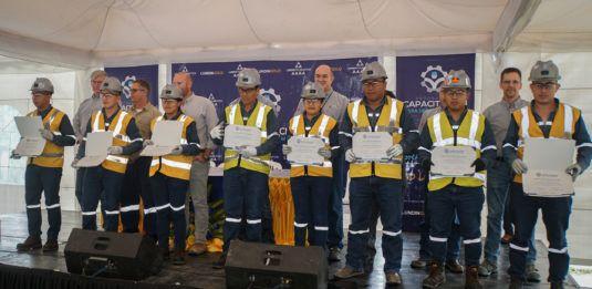 El programa de capacitación para operación minera de Lundin Gold gradúa a su segundo grupo de participantes