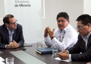 La Conaie destaca el diálogo sobre temas mineros