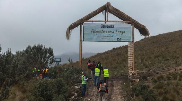 El tiempo es el peor enemigo para el proyecto Loma Larga
