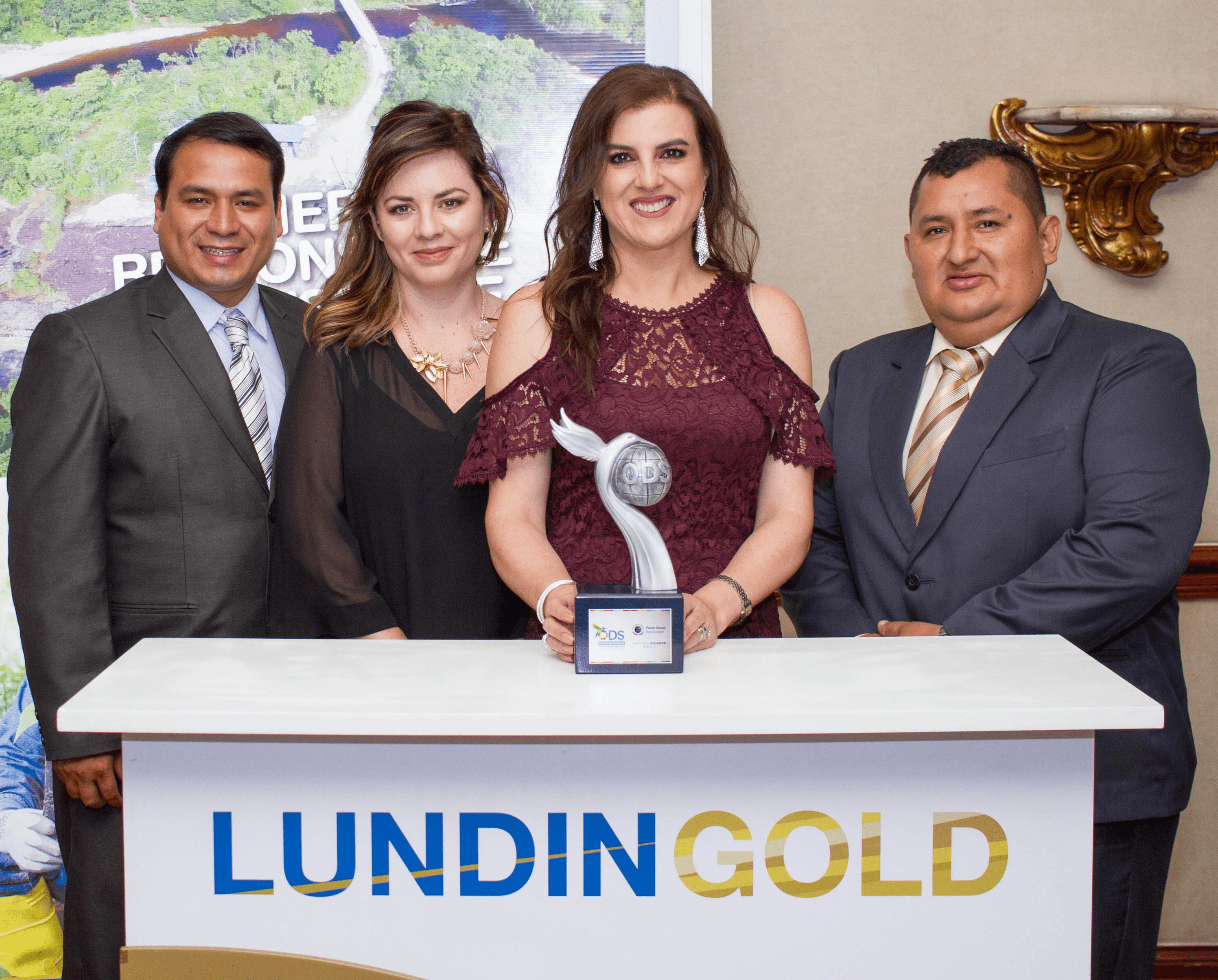 Pacto Global de las Naciones Unidas premió a minera Lundin Gold