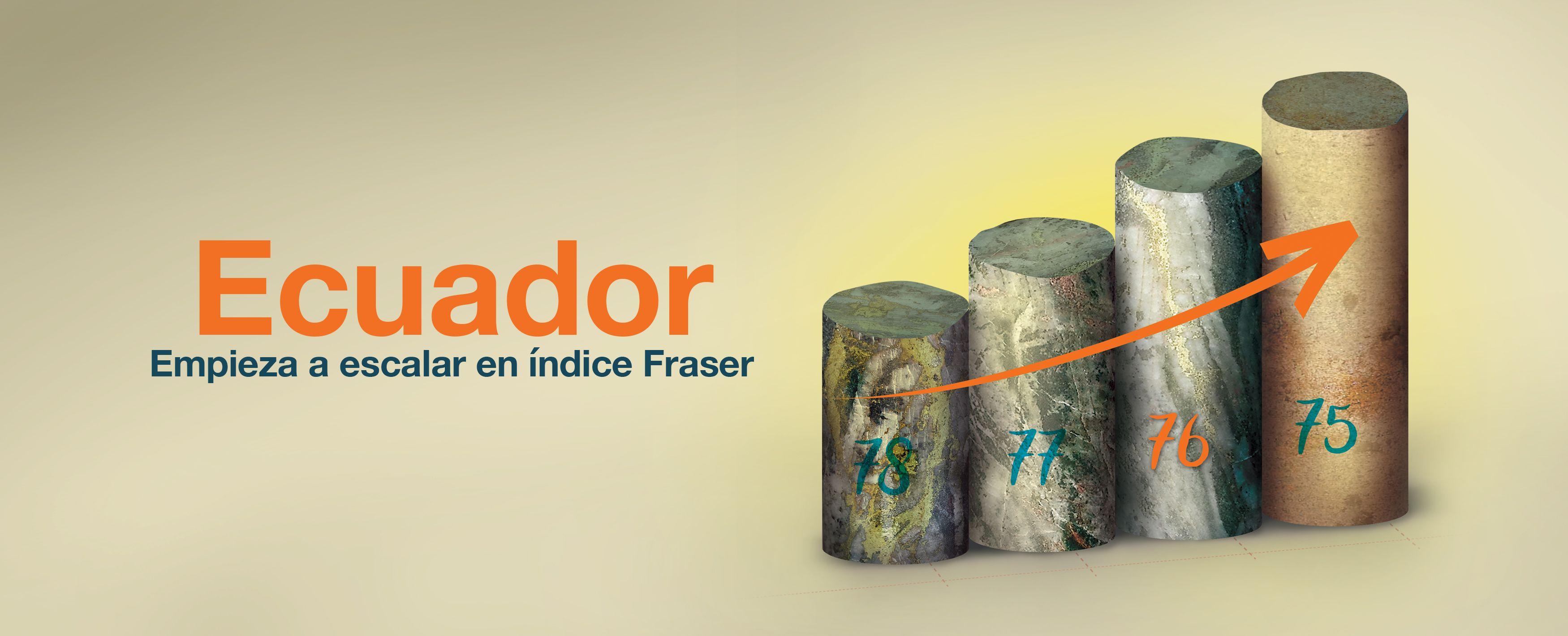 Ecuador empieza a trepar en el índice Fraser