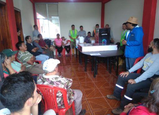 Proyecto La Plata coopera en la atención a los adultos mayores de Palo Quemado