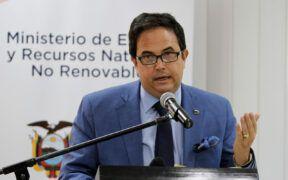 Xavier Vera Grunauer viceministro de minas ecuador