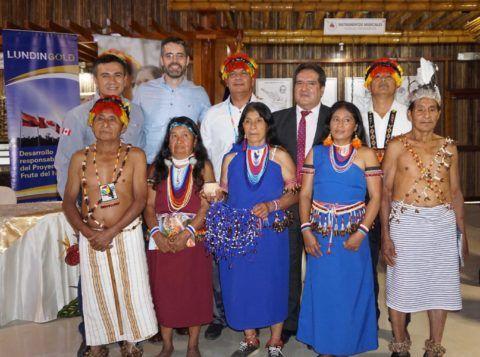 Se inauguró el centro de interpretación cultural shuar de Zamora Chinchipe
