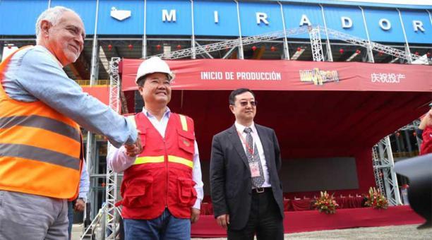 Ecuador inició extracción de cobre a gran escala en el proyecto Mirador