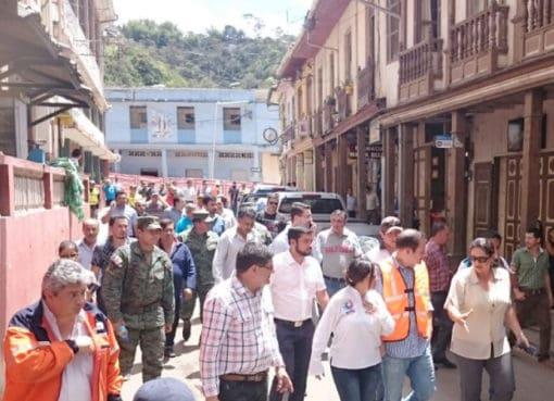 Ministro de Minería revisa avances de trabajos de remediación en Zaruma