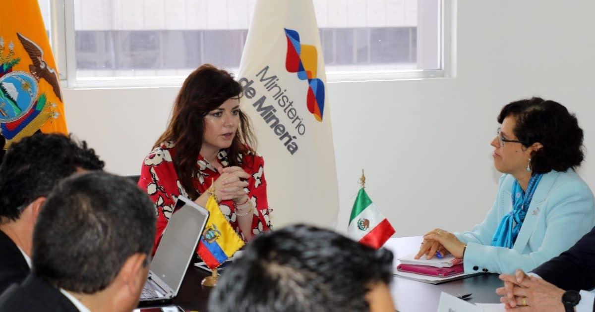 Ecuador y México intercambiaron experiencias en materia minera