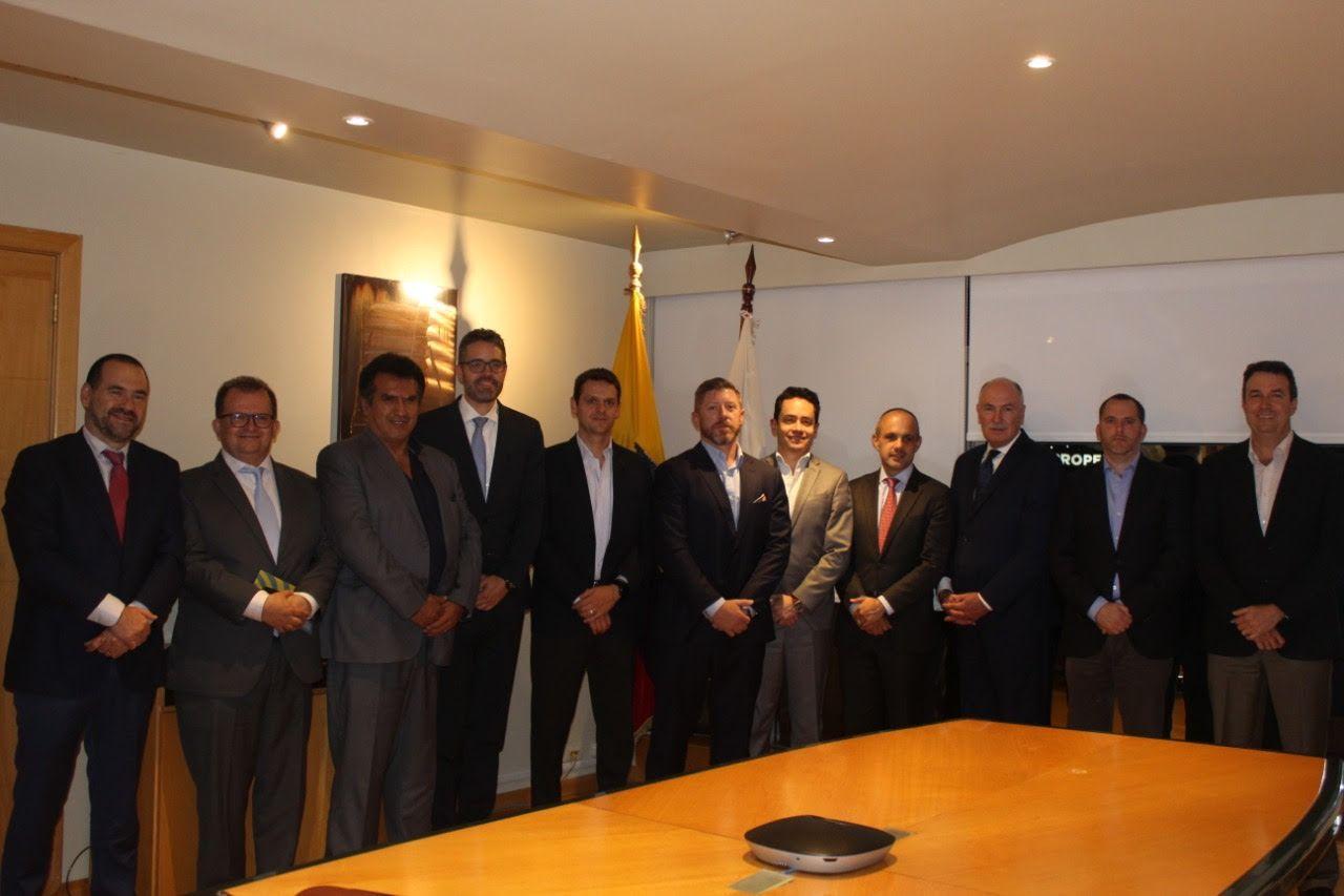 Nuevas autoridades de la Cámara de Minería del Ecuador 2019-2021