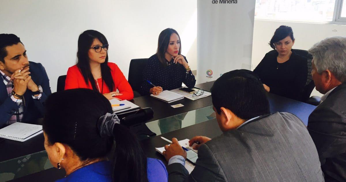 Ministerio de Minería implementará mesas de trabajo en Ponce Enríquez