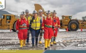 minería gran escala ecuador un año