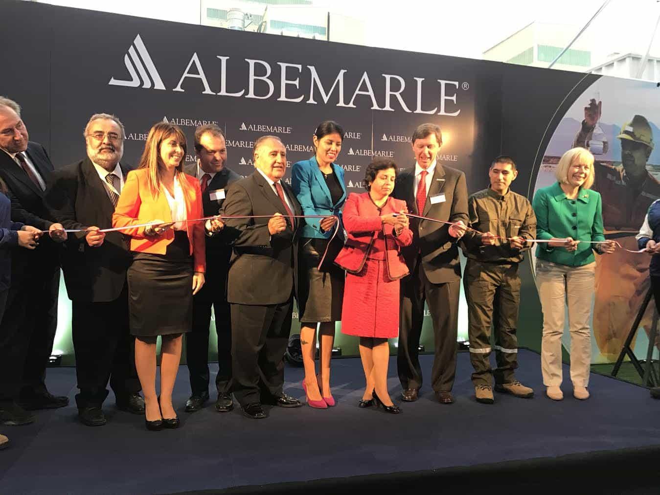 Chile inaugura planta productora de carbonato de litio más moderna de Latinoamérica